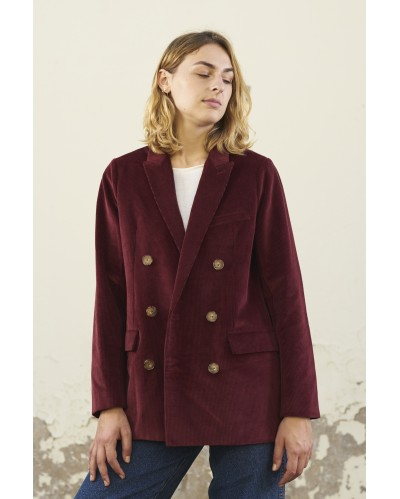 VESTE LAURIER Bordeaux