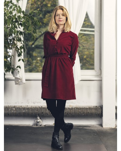 ROBE LYS Bordeaux