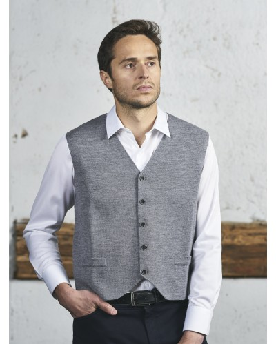 GILET EASTBOURN Gris Anthracite