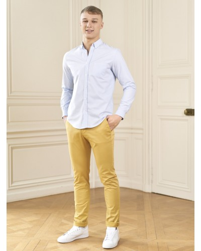 PANTALON CLERMONT Jaune Moutarde