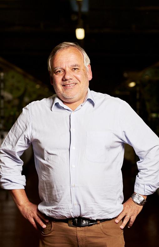 Christian Directeur du site Emanuel Lang, entreprise textile basée en Alsace