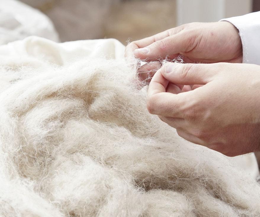 Emanuel Lang, filature de lin, des tissus à base de fils de lin 100% français
