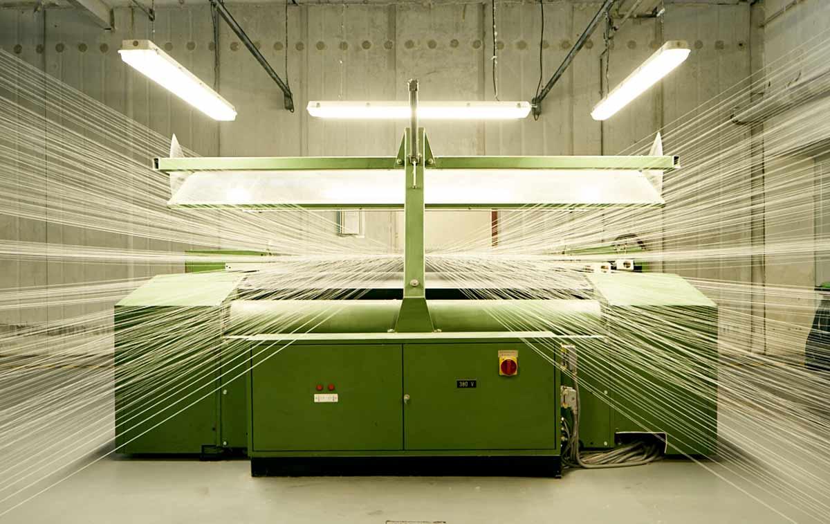 Ourdissoir, Machine, Emanuel Lang, Textiles made in France
