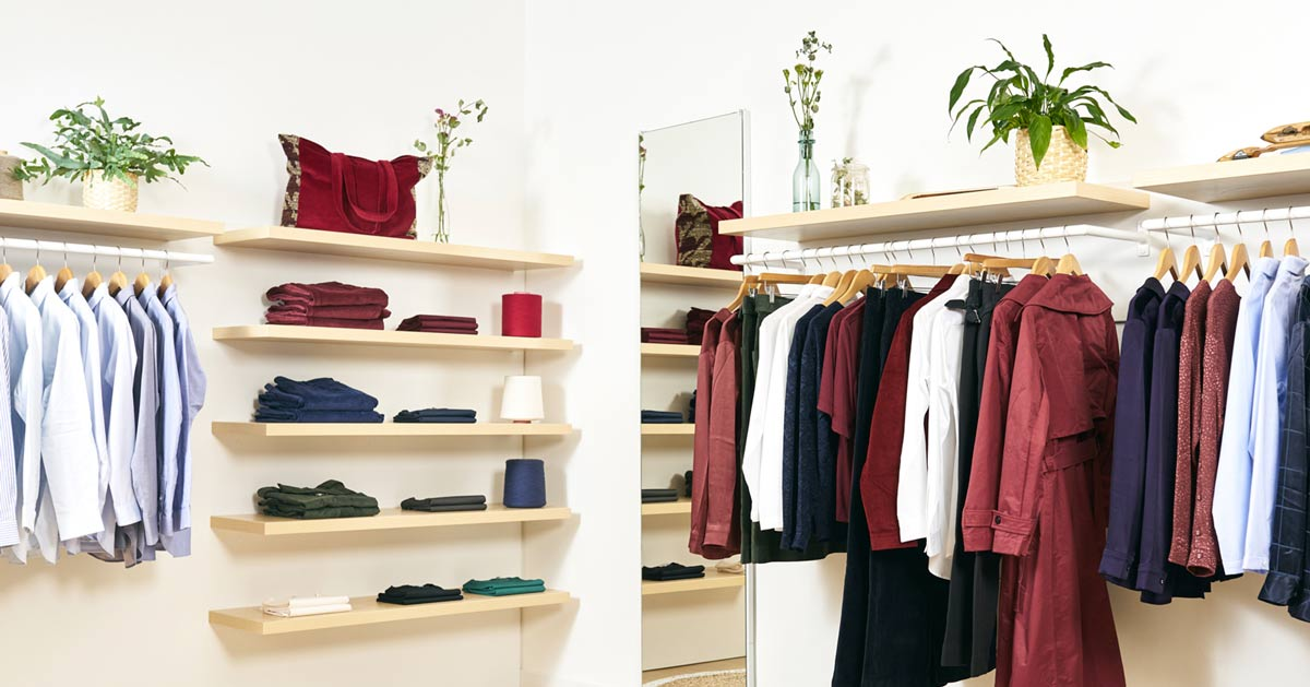 Boutique Matières Françaises, Vêtements confectionnés uniquement dans des tissus fabriqués en France