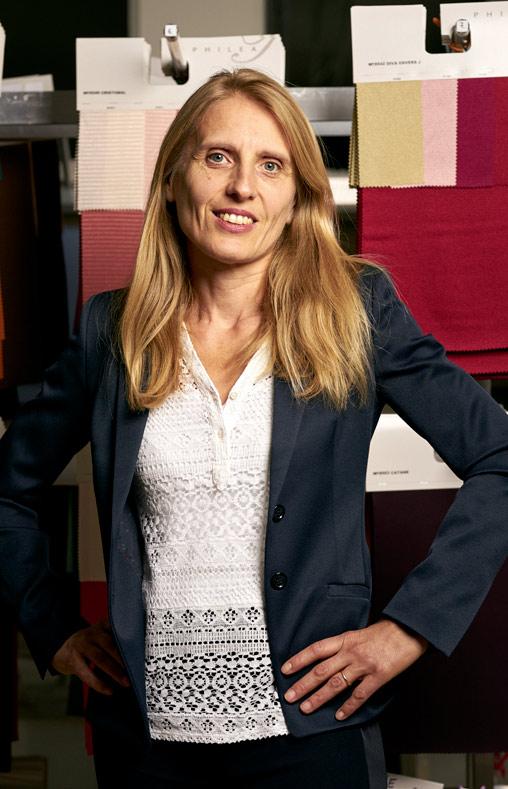Nicole, directrice commerciale chez Philea Textiles
