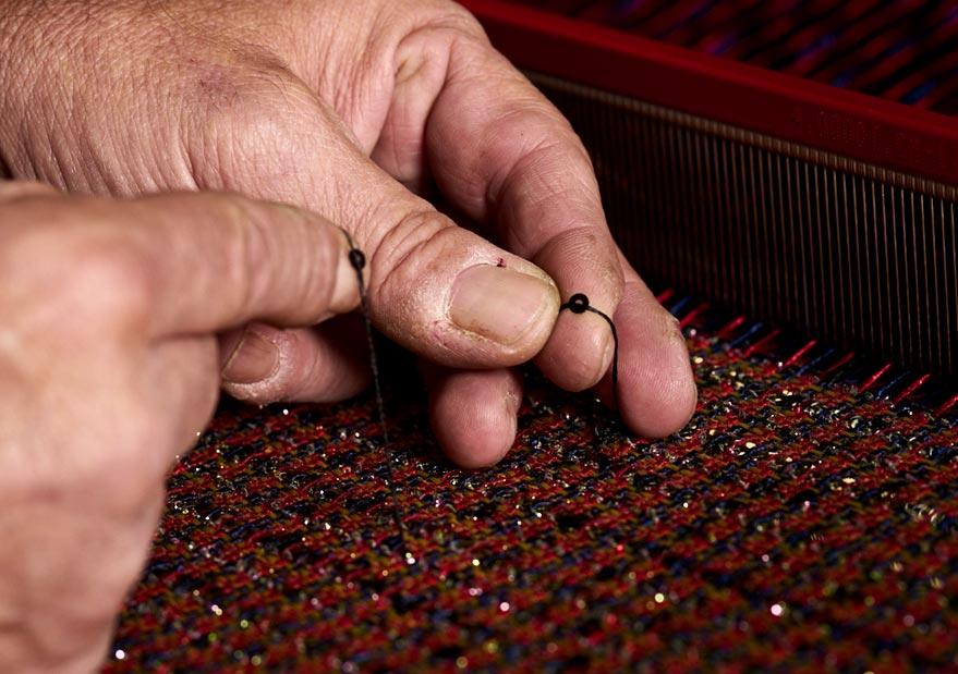 Tissage des Chaumes, Unique entreprise de tissage de tweeds en Alsace