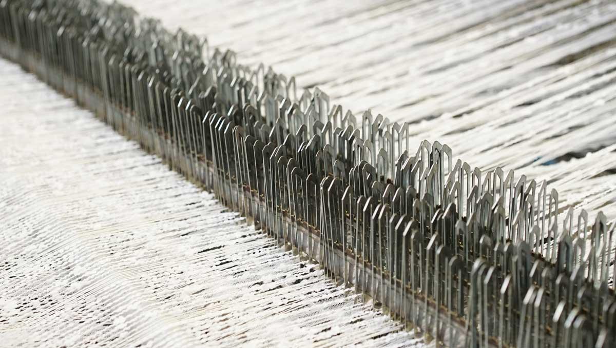 Tissage des Chaumes, unique entreprise de tissage de tweeds d'exception en Alsace