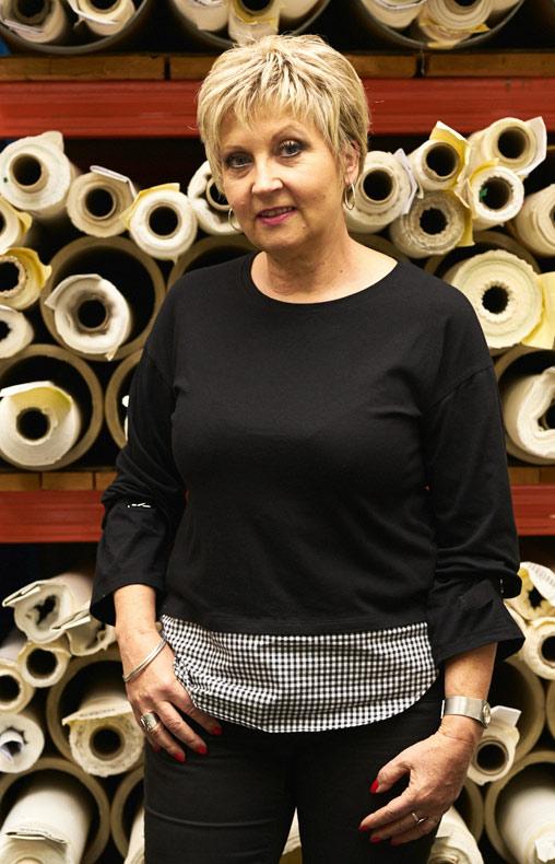 Mayou technicienne développement produit chez Velcorex, Entreprise textile basée en Alsace